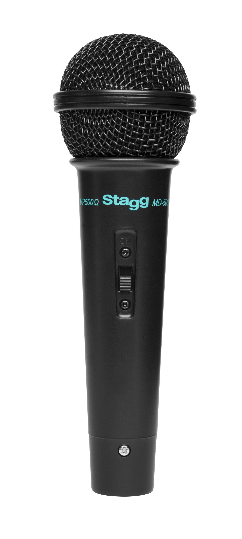 Stagg MD-500BKH, dynamický mikrofon