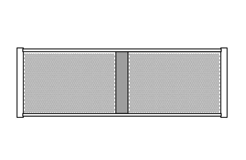 Stagg DIS-P2H1/2V BK