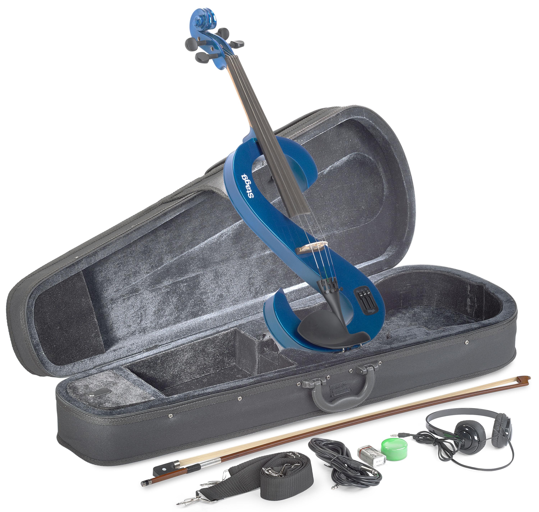 Stagg EVA 4/4 MBL, elektrická viola