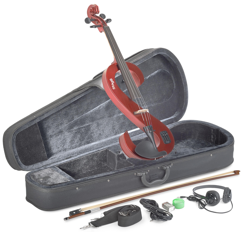 Stagg EVA 4/4 MRD, elektrická viola