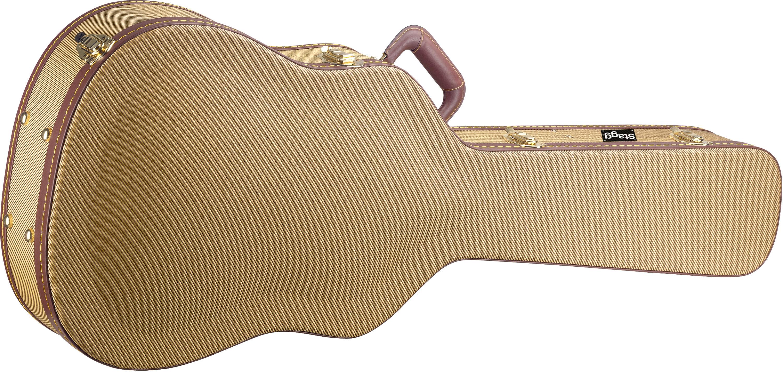 Stagg GCX-W GD, tvarovaný kufr pro akustickou kytaru