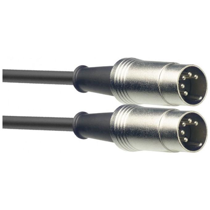 Stagg SMD2, kabel midi DIN/DIN, 2m