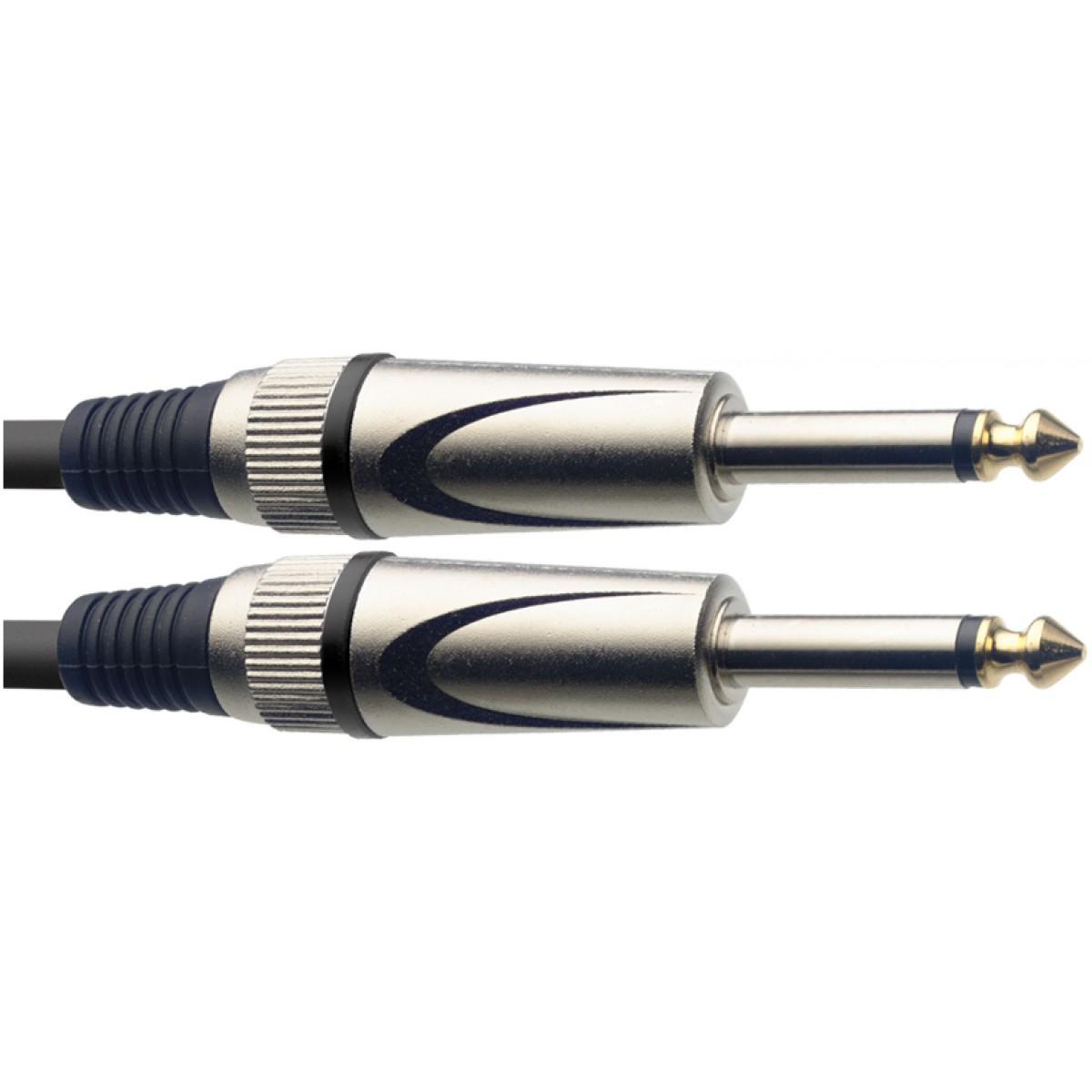 Stagg SGC3DL, kabel JACK/JACK, 3 m