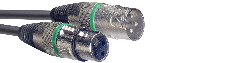 Stagg SMC10 GR, kabel mikrofonní XLR/XLR, 10m