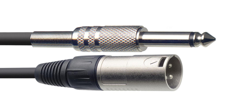 Stagg SAC1PXM DL, kabel XLR/JACK, 1m