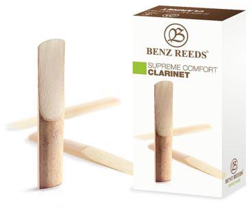 Benz Reeds Comfort, B klar. fr. 3,0, 5ks/bal