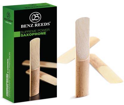 Benz Reeds Power, tenor sax. 2,5, 5ks/bal