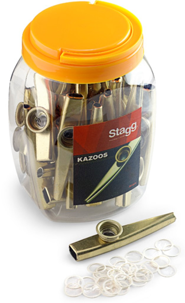 Stagg KAZOO METAL-30, kovové kazoo, 30ks