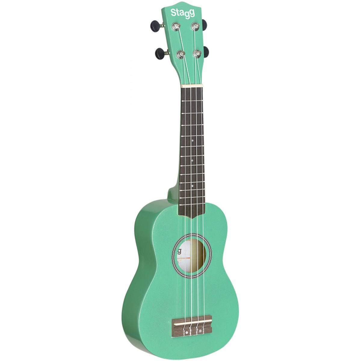 Stagg US GRASS, sopránové ukulele, zelené