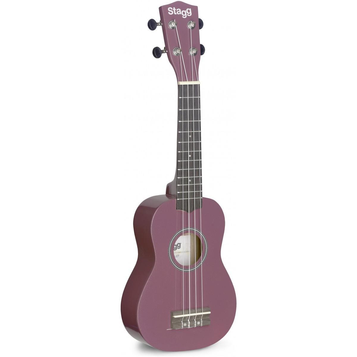 Stagg US VIOLET, sopránové ukulele, fialové