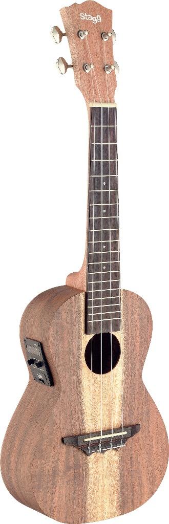 Stagg UCX-ACA-SE, ukulele koncertní, elektroakustické