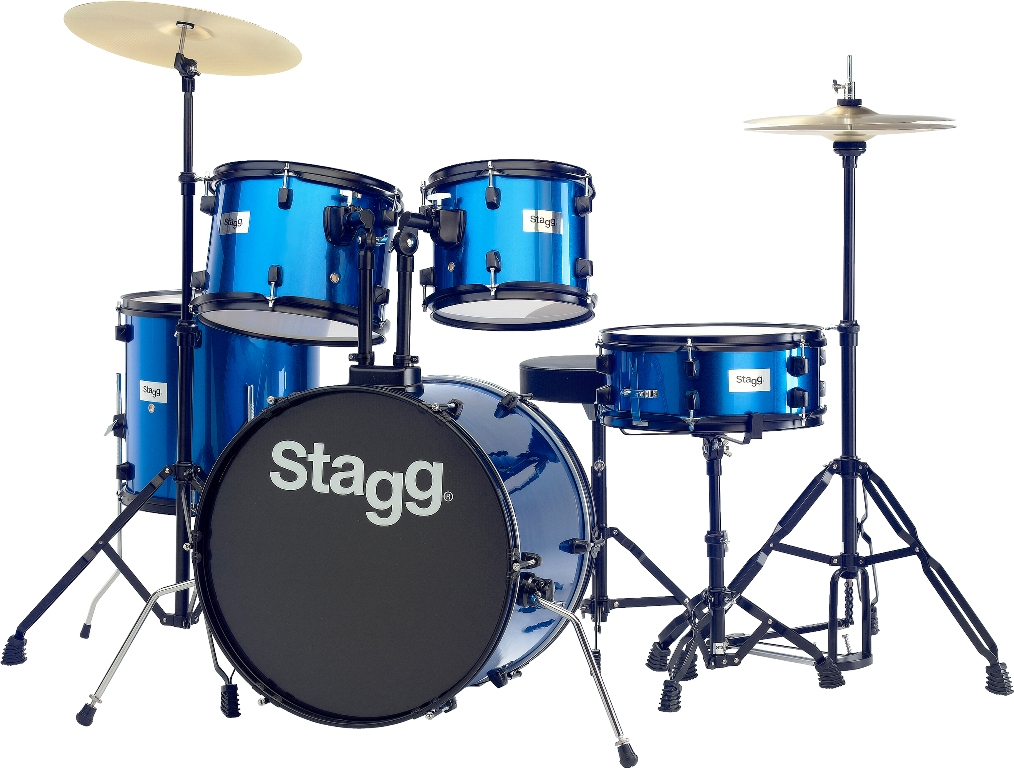 Stagg TIM120B BL, bicí sada, modrá