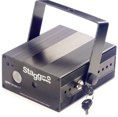 Stagg SLR CITY 17-3BK