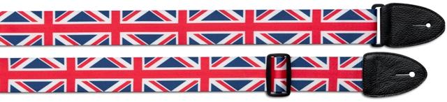Stagg STE FLAG UK, kytarový popruh