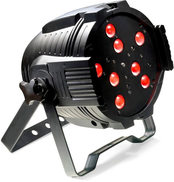 Stagg LED PAR MLZ-8x8W QCL DMX černý, LED reflektor