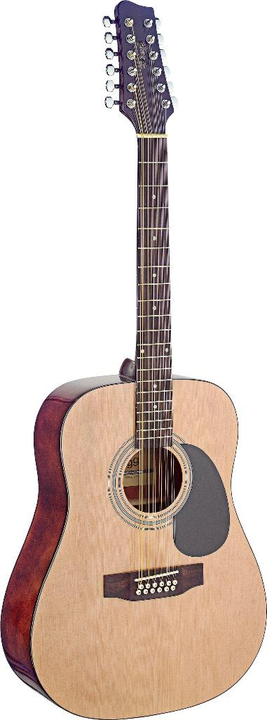 Fotografie Stagg SA40D/12-N, 12-ti strunná akustická kytara
