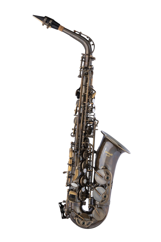 Stagg WS-AS218S, Es alt saxofon, vintage