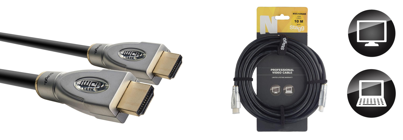 Stagg NVC10HAM kabel HDMI, 10 m