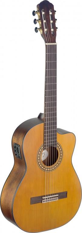 Angel Lopez SIL-CE M, klasická kytara s elektronikou