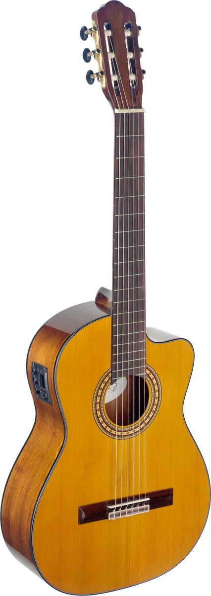 Angel Lopez SIL-CE HG, klasická kytara s elektronikou