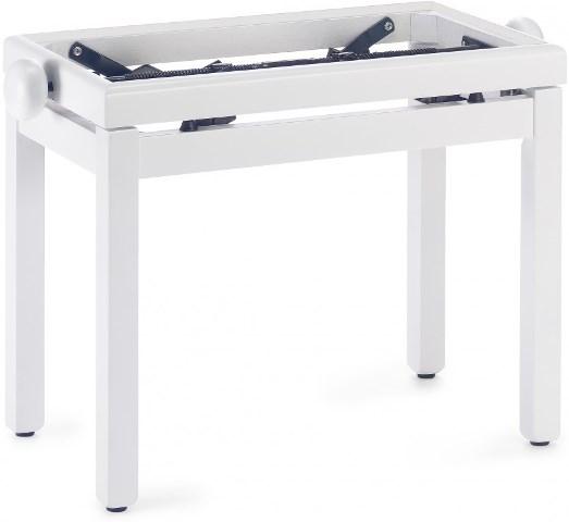 Stagg PB39 WH M, stolička ke klavíru