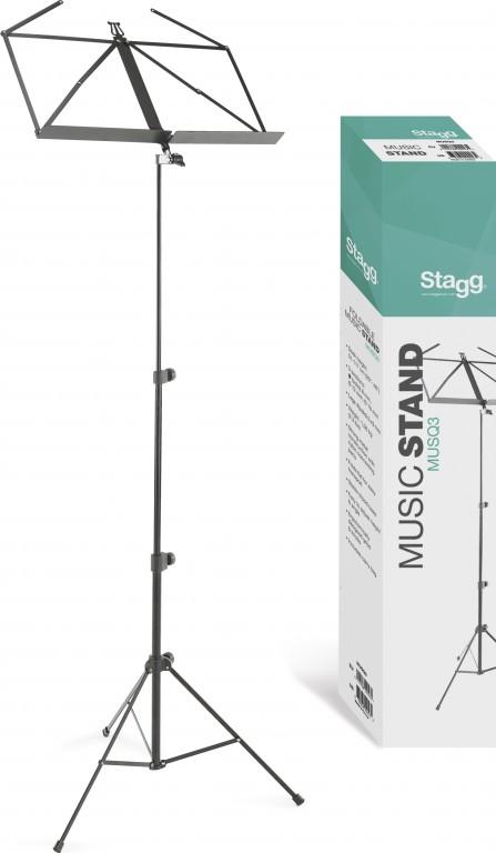 Stagg MUSQ3, notový stojánek