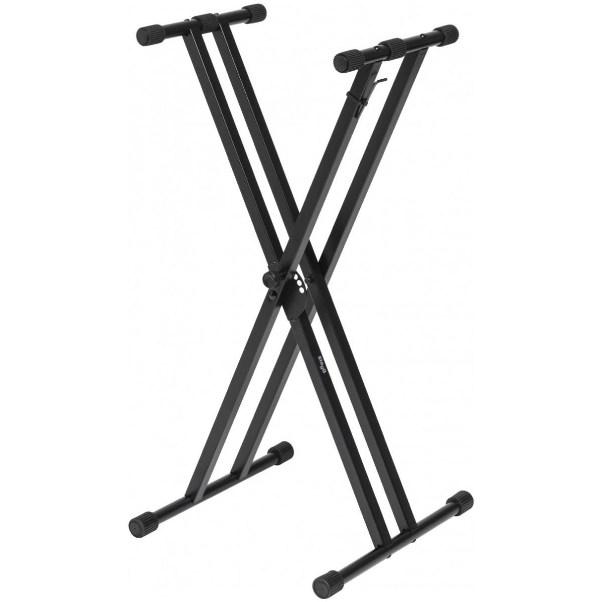Stagg KXSQ5, stojan na klávesy, dvojitý