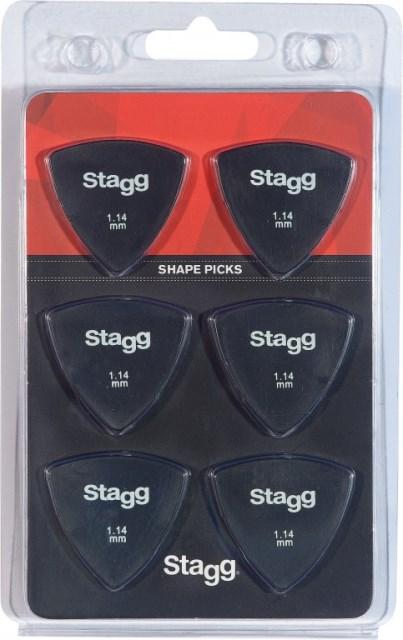 Stagg SPELLIX6-1.14, trsátka, balení 6ks
