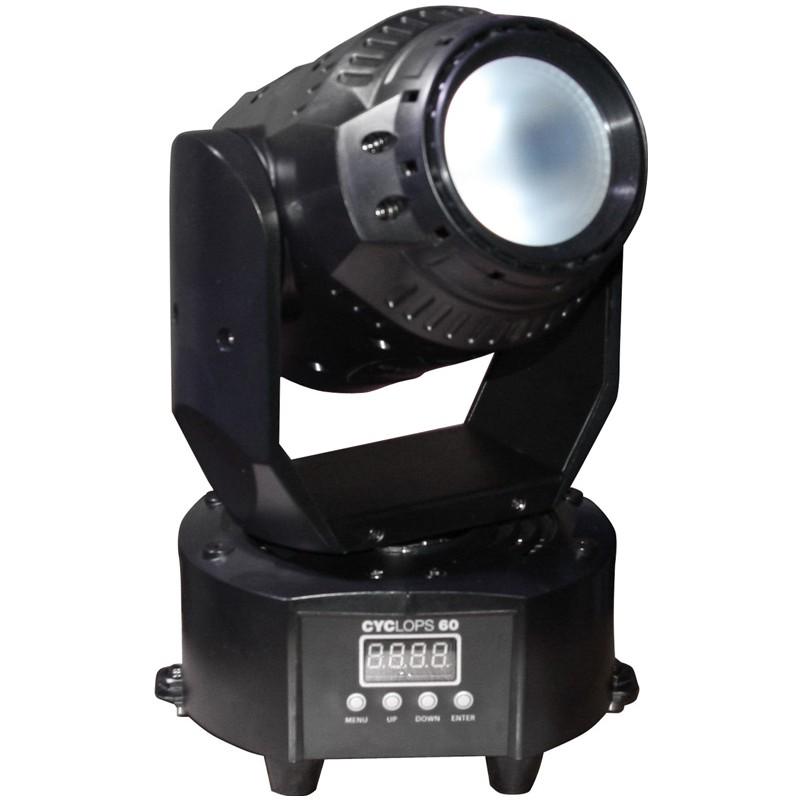 Stagg LED otočná hlavice 1x 60W COB RGB DMX