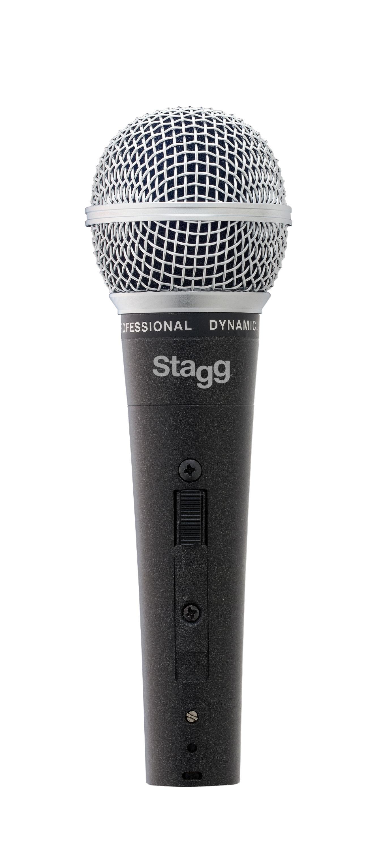 Stagg SDM50, dynamický mikrofon, kovové tělo