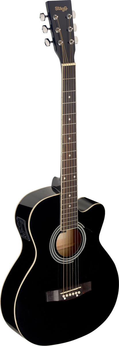 Stagg SA20ACE-BLK, elektroakustická kytara