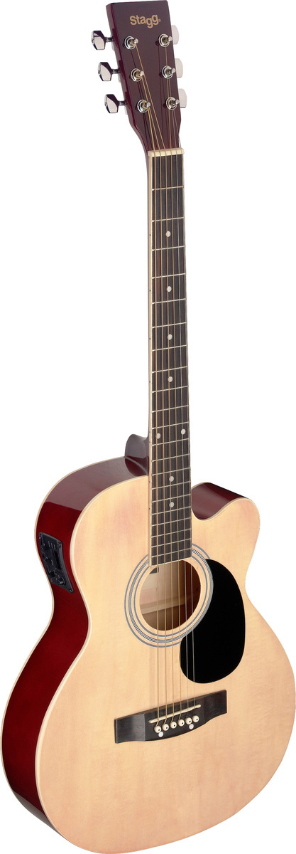 Stagg SA20ACE-NAT, elektroakustická kytara