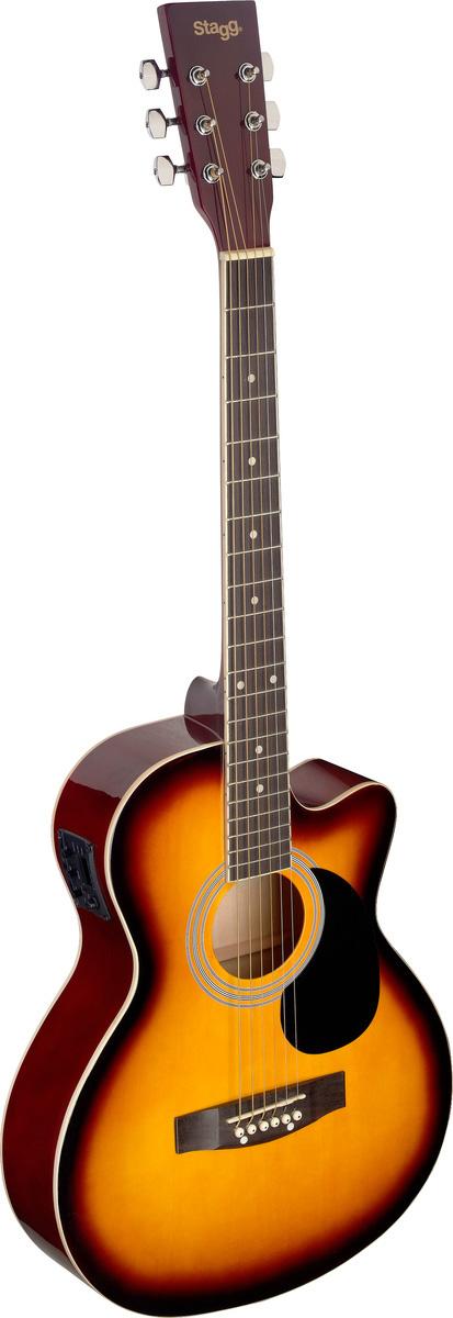 Stagg SA20ACE-SNB, elektroakustická kytara