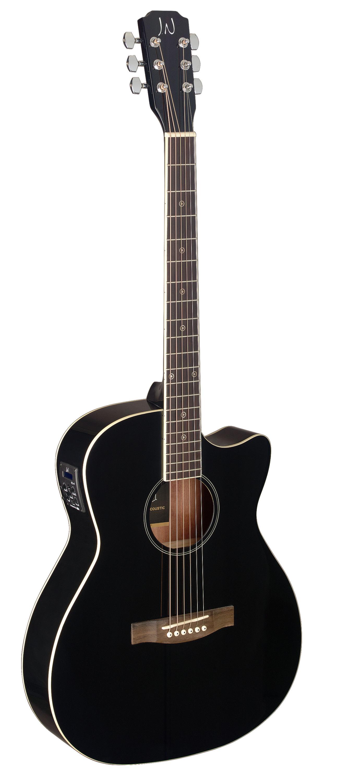James Neligan BES-ACE BK, elektroakustická kytara