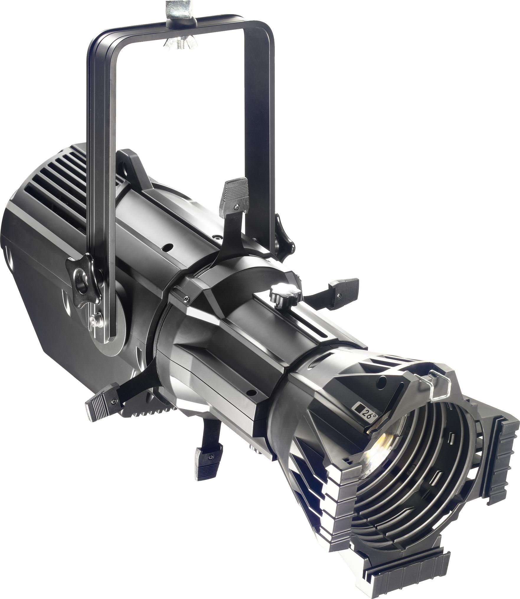 Stagg SLP200 profilový reflektor, 1x200W COB 3200K DMX černý
