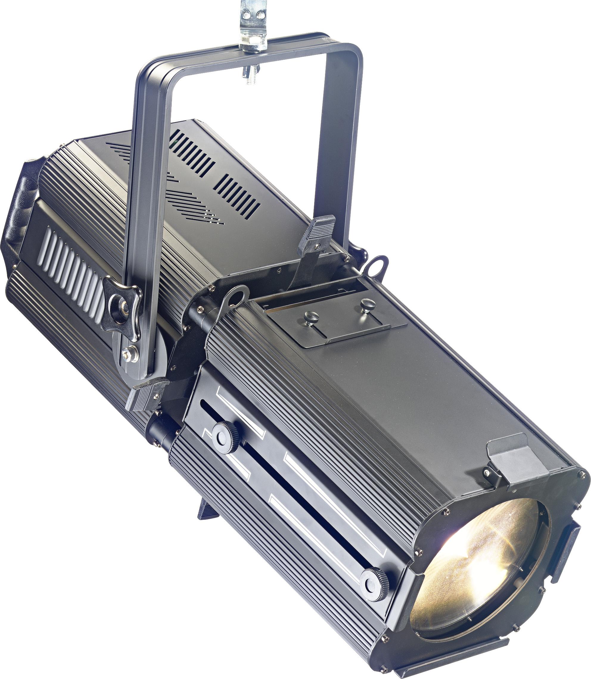 Stagg SLP200Z divadelní reflektor, 1x200W COB 3200K DMX, 17° - 50°
