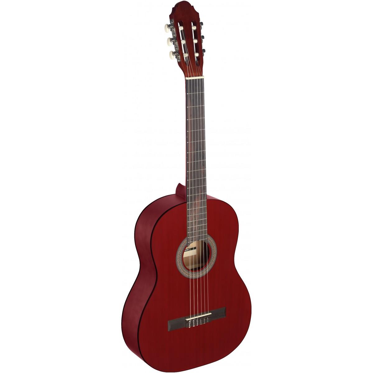 Stagg C440 M RED, klasická kytara 4/4