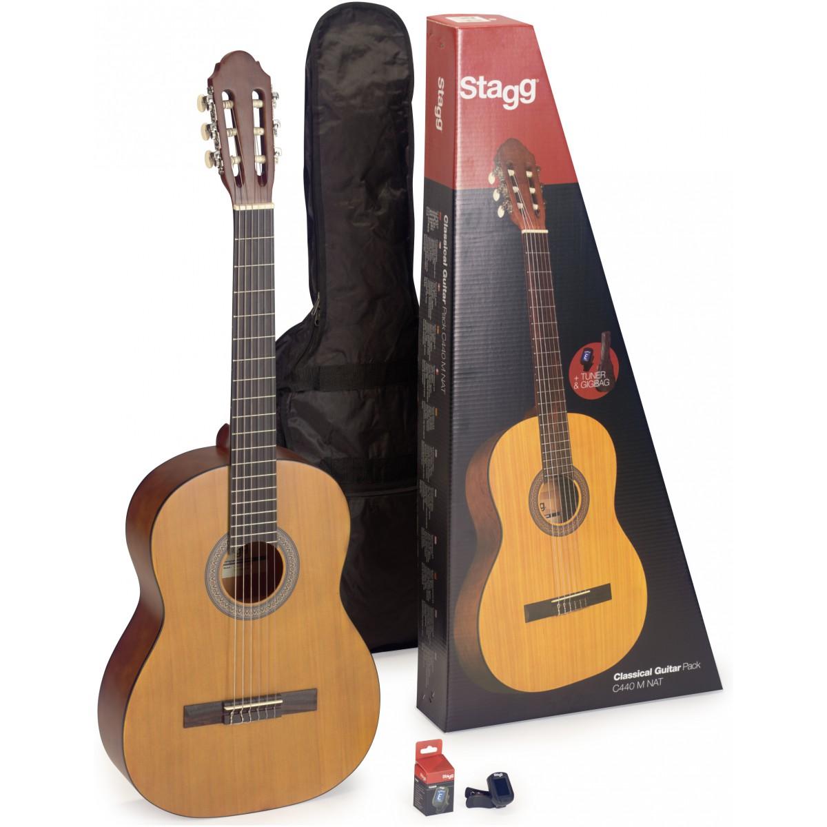 Stagg C440 PACK M NAT, kytarová sada