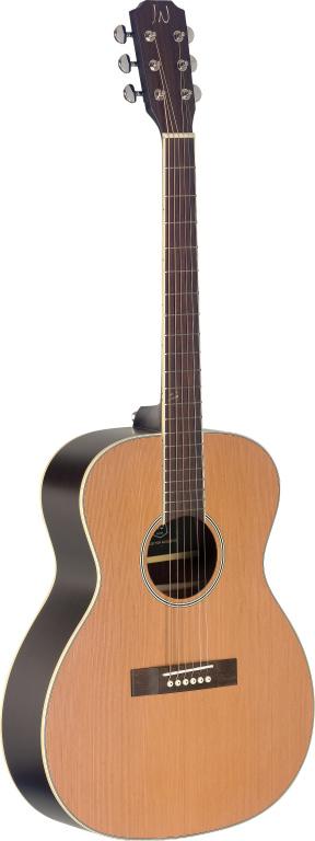 James Neligan EZR-OM NBK, Akustická kytara
