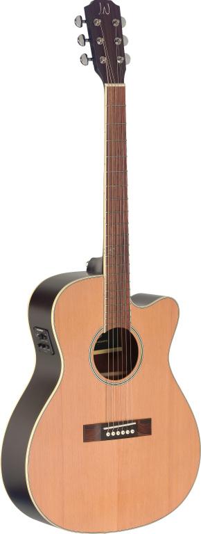 James Neligan EZR-OMCFI NBK, Elektroakustická kytara