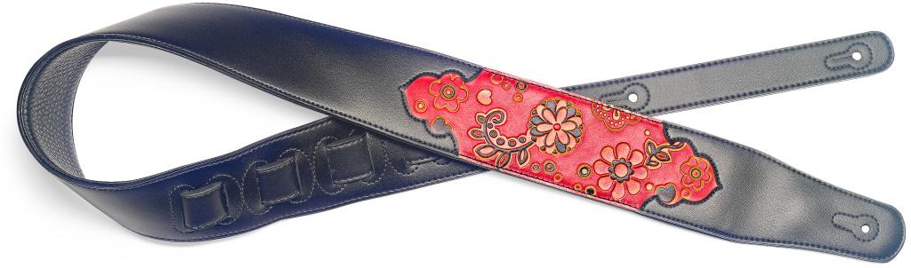 Stagg SPFL PSLY 1 RED, kytarový popruh