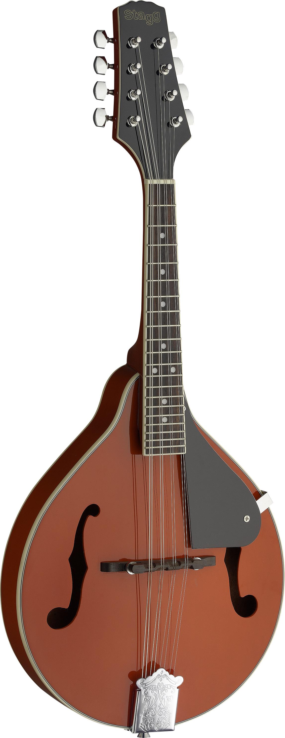 Stagg M20 RED, mandolína bluegrassová, červená
