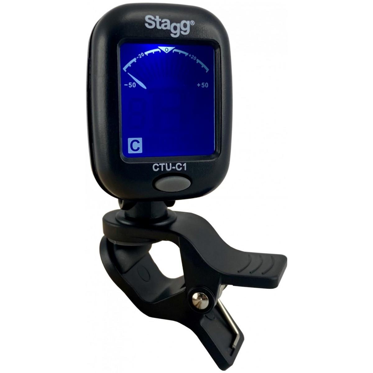 Stagg CTU-C1, klipová ladička