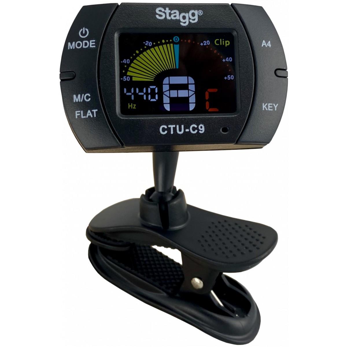 Stagg CTU-C9, klipová ladička