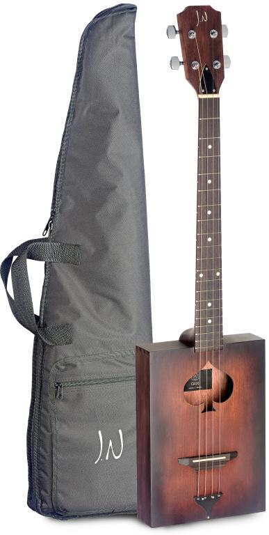 James Neligan CASK-FIRKIN, akustická kytara cigarbox