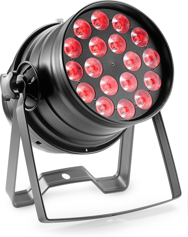 Stagg SLCL 188-41B-0, LED reflektor 18x8W QCL, černý