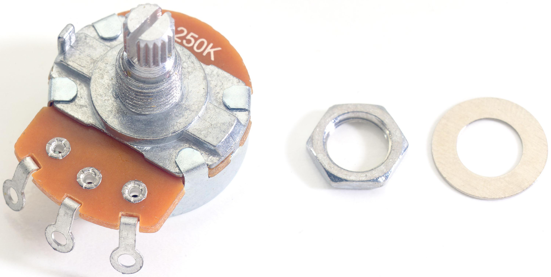 Stagg SP-POT250B, potenciometr pro elektrickou kytaru
