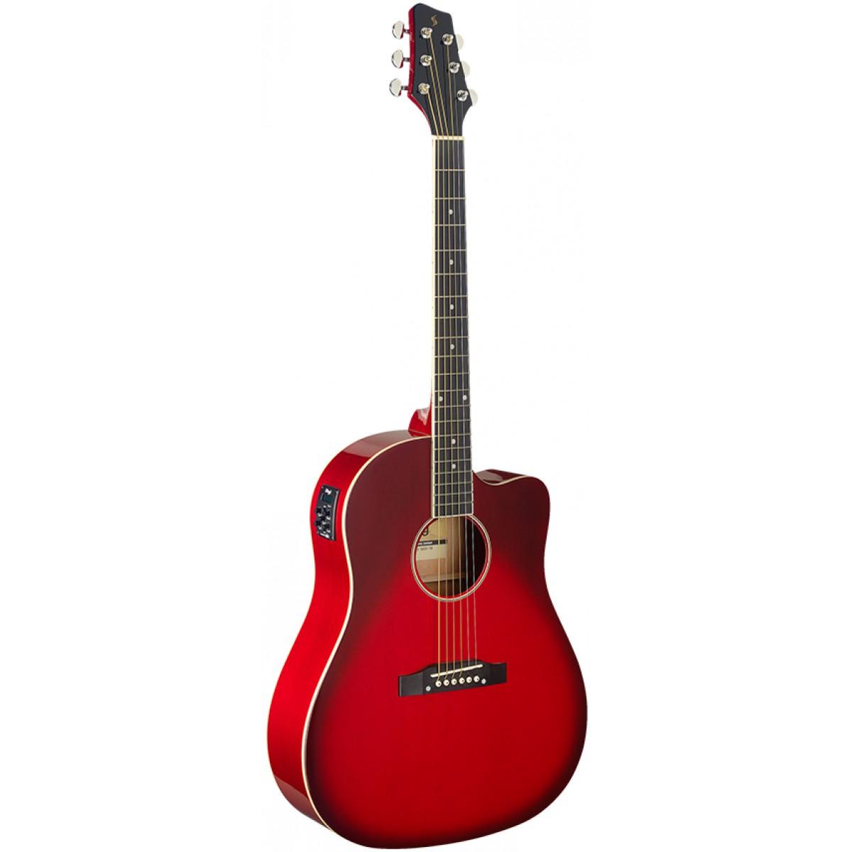 Stagg SA35 DSCE-TR, elektroakustická kytara