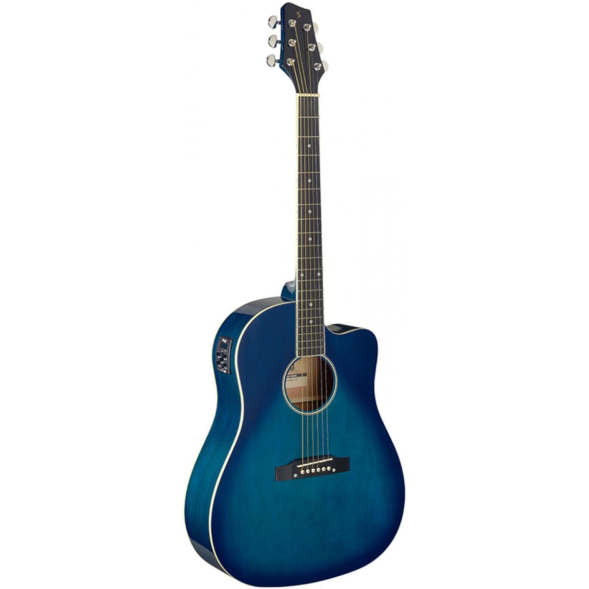 Stagg SA35 DSCE-TB, elektroakustická kytara