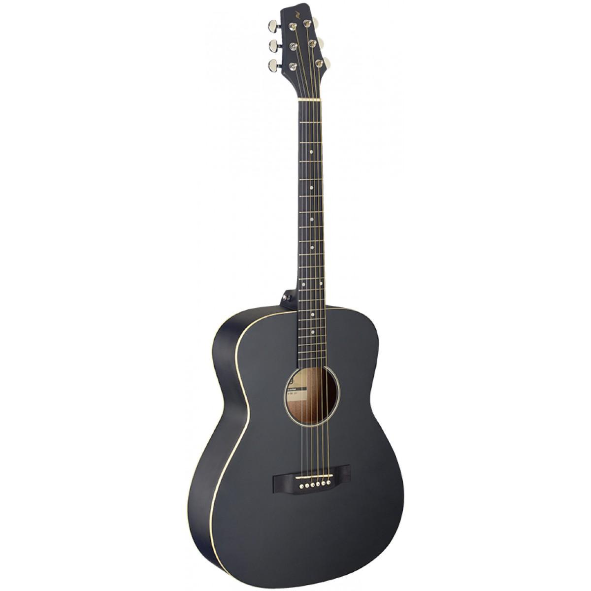 Stagg SA35 A-BK LH, akustická kytara levoruká